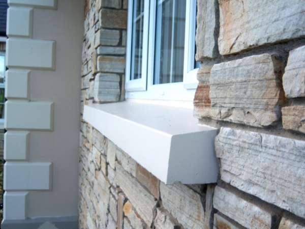 Top quality concrete sills hasson concrete products for Repairing concrete window sills exterior