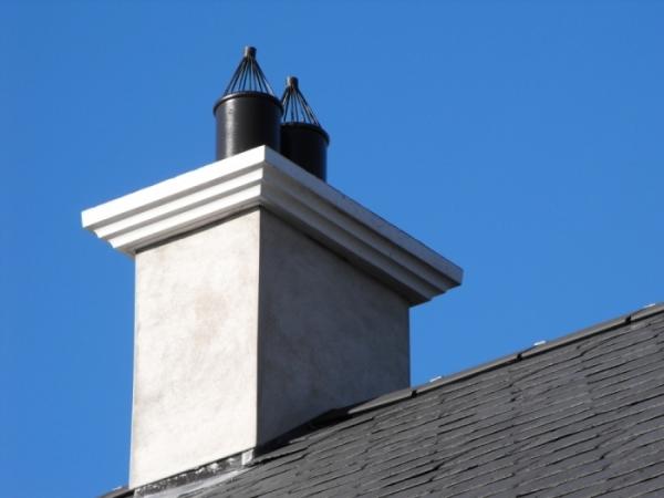 Concrete Chimney Cap : Concrete chimney caps precast derry